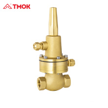 Bypass Pressure reducing Pilot valve relief valve copper brass
