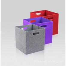 Felt Foldable Storage Box Toy Organizer