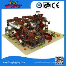Equipamento interno plástico do campo de jogos das crianças de Kidsplayplay para o campo de jogos das crianças da venda