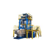 Máquina de fundición de baja presión de aleación de aluminio
