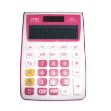12 Ziffern Rosa Calculator
