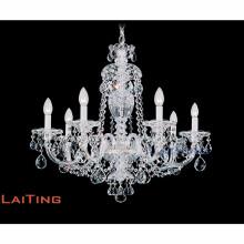 Maria Theresa Gold Klar K9 Kristall Kronleuchter LED Kristall Glanz Licht für Küche Flur LT-81146