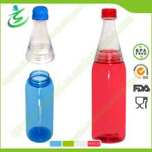 Garrafa de água de propósito geral Smooth Tritan 600ml, garrafa de suco (DB-G1)