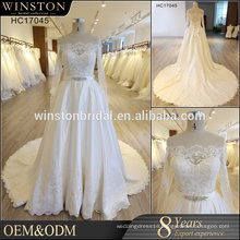 New Design Custom Made wedding dress guangzhou wedding dresses arabic style