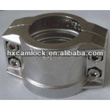 Abrazadera de seguridad de acero inoxidable DIN2817