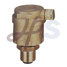 Brass air release automatic air vent valve