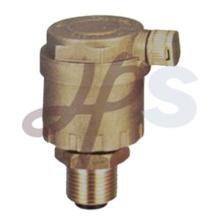 Латунь выпуска воздуха автоматический клапан сброса давления воздуха
