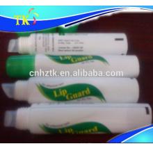 tubo de brillo labial / bálsamo labial / plástico / transparente / tubo cosmético
