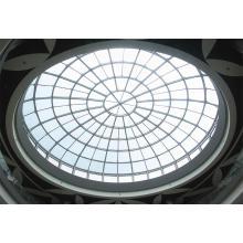 Структура Ферменной конструкции трубы Куполообразной крышей торгового центра