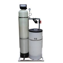 Salzwasserenthärtungsfilter mit Regenerations- und Rückspülventil