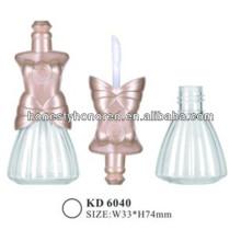Cute Shape Empty Plastic Cosmetic Lipgloss Bottles