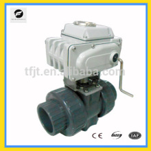 "AC220V CTB010 2"" PVC control motor electric valve for heat energy meters and reuse of rainwater and reuse of grey water system"