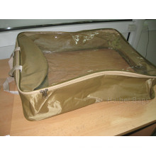 PVC Package Bag for Packing of Pillows and Blankets (HBPV-73)