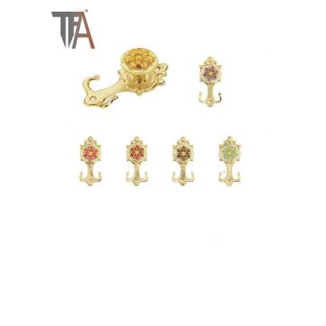 Forme de la fleur Matériau du crochet pour la décoration