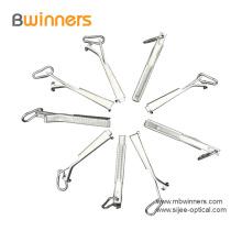 Abrazadera de cable de caída de cable de fibra óptica de aluminio