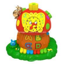 Magic Mushroom Funny Clock Instrumentos Musicais Brinquedos