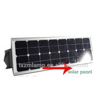 DC12 / 24V 10 ~ 80W todo en luz de calle solar integrada de la luz de calle solar