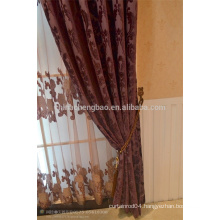 2015 china wholesale ready made curtain,velvet jacquard church curtains