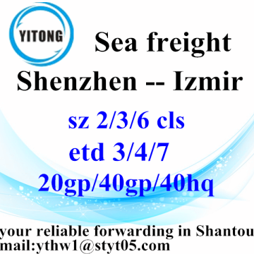 Shenzhen, Izmir International Freight Forwarder