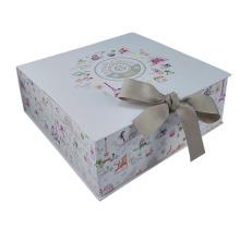 Caja de regalo de boda de cierre magnético personalizado