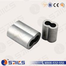 Férulas de aluminio de la cuerda de alambre DIN3093