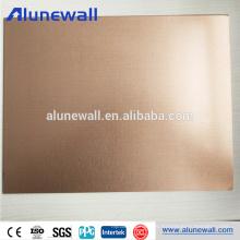 Panel compuesto de cobre para paneles de pared de remolque