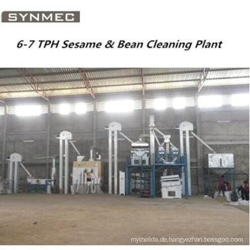 Grain Seed Cleaning Plant für Weizen Mais Sesam Paddy Bean
