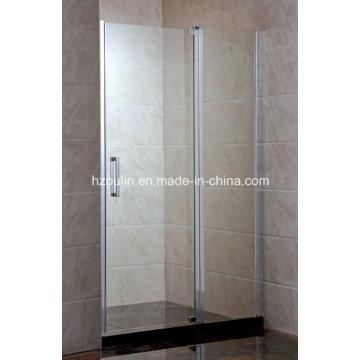 Bi-Fold Tempered Glass Shower Screen