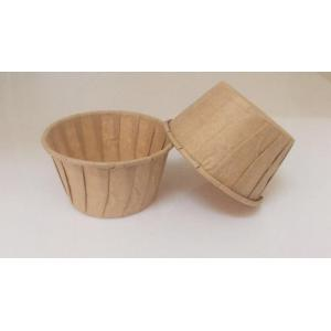 Chocolate Color Roll Edge Baking Cup