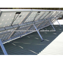 Aluminium Section for Solar Mounting System
