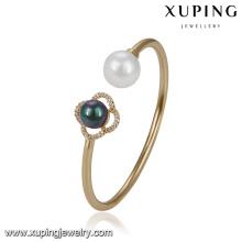 51718 Xuping 18k joyería chapada en oro, brazalete de moda para las mujeres