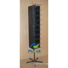 Floor Rotating Metal Magnet Display Stand (pH2120)