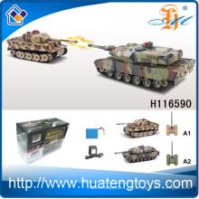 New Arrival 1:24 escala infravermelha RC tanque de combate rc tanque H116590