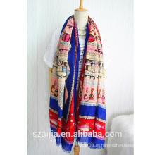 Bufanda / mantón largos animales printded del nuevo estilo