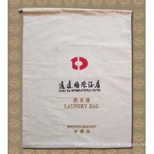 Напечатанный Выдвиженческий хлопок отеле стирка карман мешок Прачечного (YKY7403)
