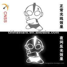 Logo réfléchissant à transfert de chaleur Ultraman personnalisé