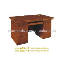 Kleiner Büro-Schreibtisch, mdf Büro-Schreibtisch, Büro-Schreibtisch-Matten-Finishing (A65)