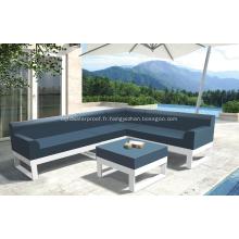 Design de mode haut de gamme en mousse de polyuréthane pour mobilier d'extérieur