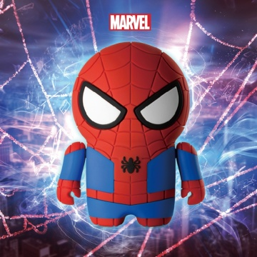 Populaire Spider-man Real Powerbank Cover siliconen hoes