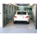 XIWEI 5000KG Grand volume Deux panneaux en acier inoxydable Côté ouvert Ascenseur de voiture ouvert