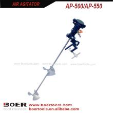Batedor de ar de aperto 1 / 8HP 1 / 4HP do misturador da pintura de ar do agitador do ar
