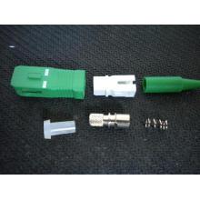 Conectores para cabo de correção óptico Sc. APC 0,9mm