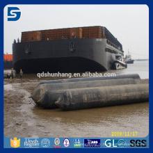 Airbag marin pneumatique en caoutchouc pour le lancement et le lifitng de bateau