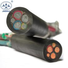 Design razoável h03rt-h guindaste de torre de cabo de energia do cabo h05rn-f 3g0.75