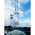 Fábrica de China de 15 pulgadas de 5 mm de espesor de tubos rectos tubo de agua de fumar de vidrio