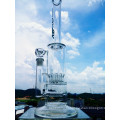 China Fábrica de 15 polegadas 5 milímetros de espessura reta Tubo de vidro de fumar tubulação de água