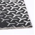 Super thick warm blanket pure wool jacquard blanket