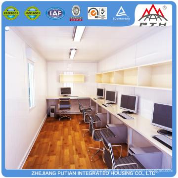 ISO, certifié CE luxueux préfabriqué maison de bureau à conteneurs en Chine