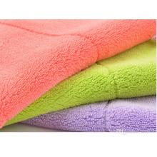 Super Absorbent Customized Coral Fleece Car Cleaning Towel
