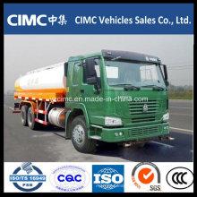 Camion de réservoir de carburant de Sinotruk HOWO 6X4 22000L